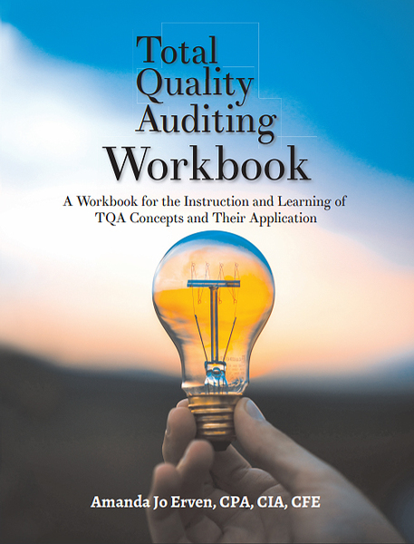 Main total quality auditing workbook cover