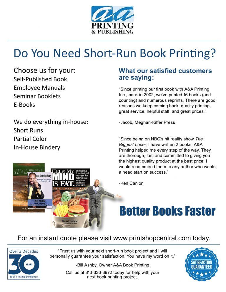 Book Self-Publishing Bradenton Florida